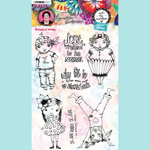 Art by Marlene - Signature Collection 5.0 - Clear Stamp Set # 52