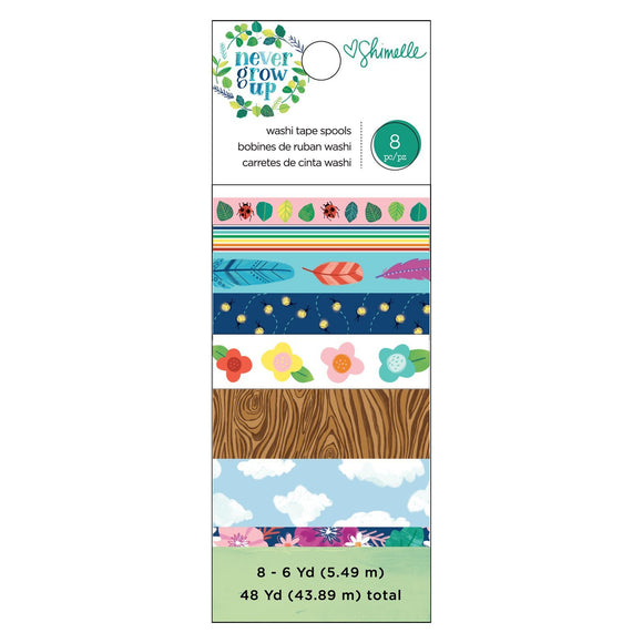 American Crafts - Never Grow Up - Washi Tape