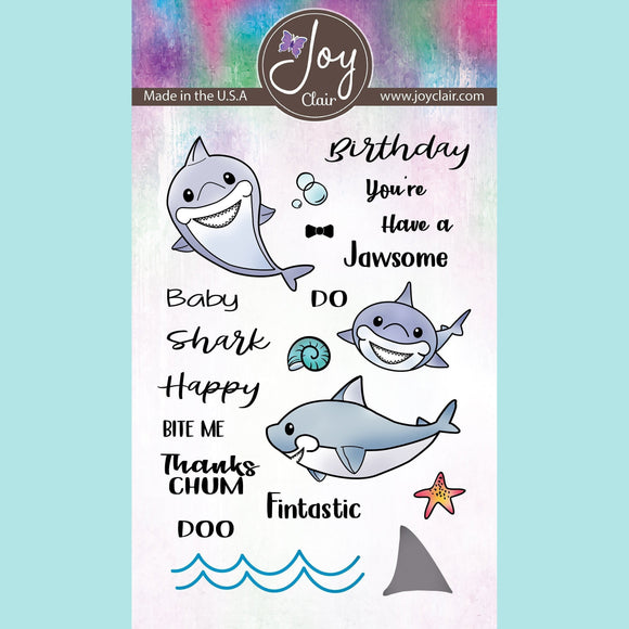 Joy Clair - Baby Shark Clear Stamps