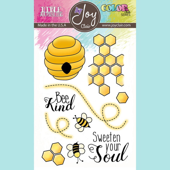Joy Clair - Bee Kind | Bible Journaling Clear Stamps