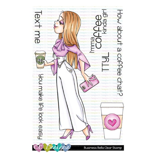 C.C. Designs - Business Bella Clear Stamps