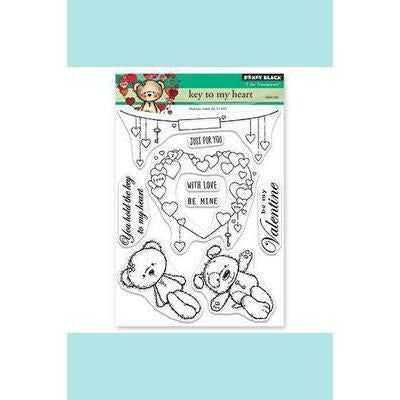 Penny Black Key to my Heart Stamp Set