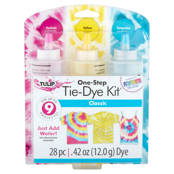 Tulip 3 Bottle Tie Dye Kit Classic
