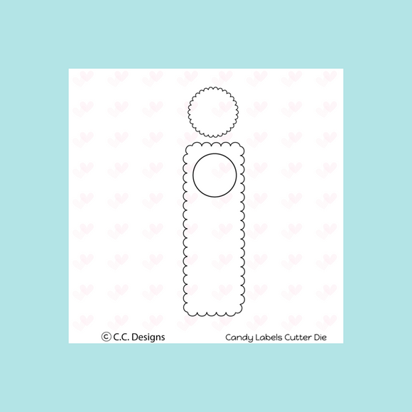 C.C. Designs - Candy Wrapper Die
