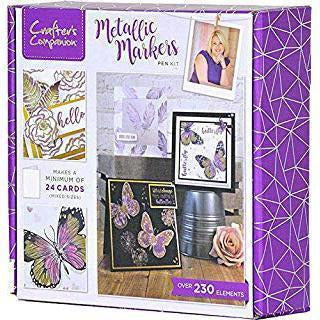 Crafter's Companion Craft Box Kit - Metallic Markers #8