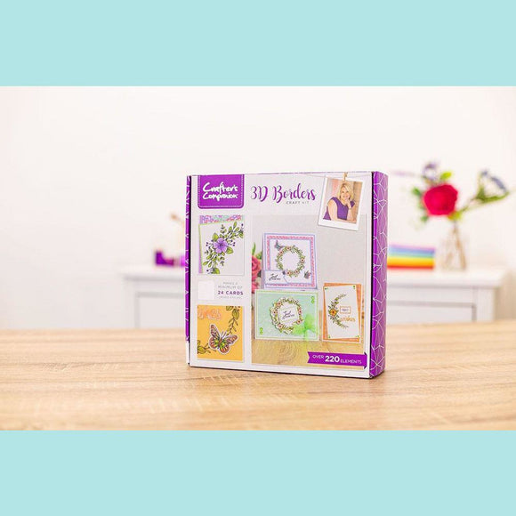 Crafter's Companion - Monthly Craft Kit #30 - 3D Borders Craft Kit