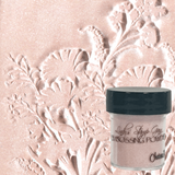 Lindy's Gang Tres Chic Embossing Powder Range  Chateau Rose