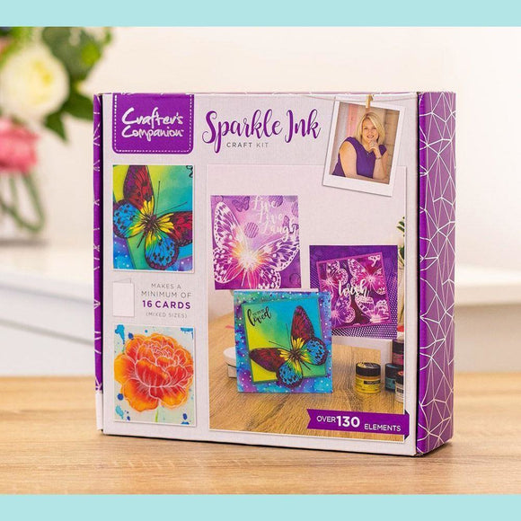 Crafter's Companion Craft Box Kit - Sparkle Ink #22 (NEW)