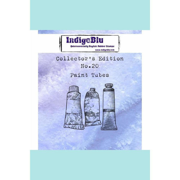 IndigoBlu Collector's Edition - Number 20 - Paint Tubes