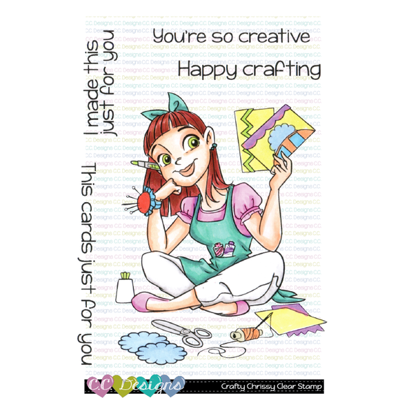 C.C. Designs - Crafty Chrissy Clear Stamps
