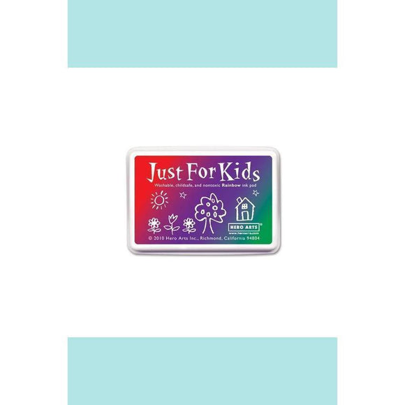 Hero Arts - Just for Kids Ink-pad - 3-COLOR RAINBOW INKPAD