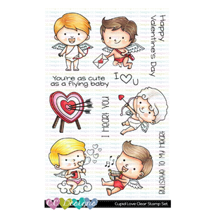 C.C. Designs - New Cupid Love Clear Stamp Set