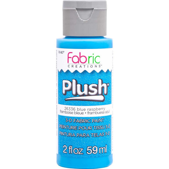 Fabric Creations - Plush - 3D Fabric Paints BLUE RASPBERRY