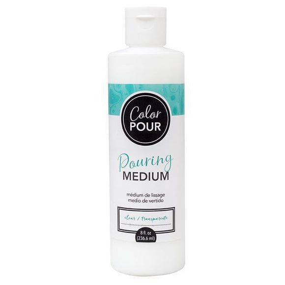 American Crafts - Color Pour Pearl Pouring Medium - 8 Oz