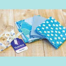 Crafter's Companion - Threaders Tokyo Blue - Three Fat Quarters