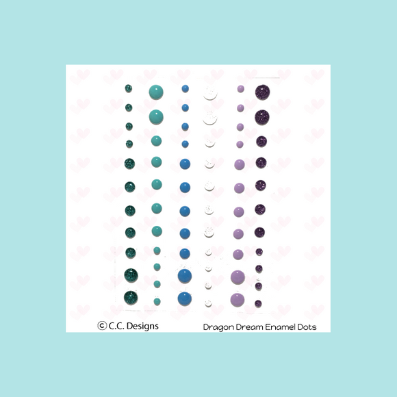 C.C. Designs Dragons Dreams Enamel Dots
