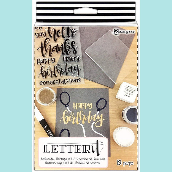 Ranger - Letter It Embossing Kit