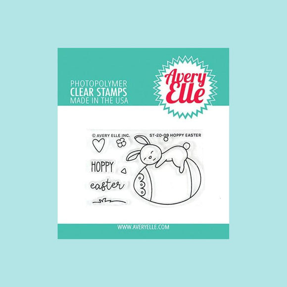 Avery Elle - Hoppy Easter Clear Stamps and Die