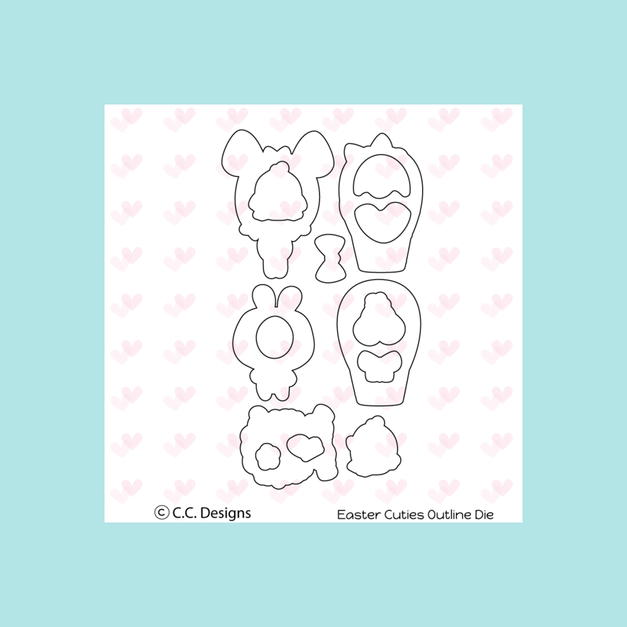C.C. Designs Easter Cuties Die Sets
