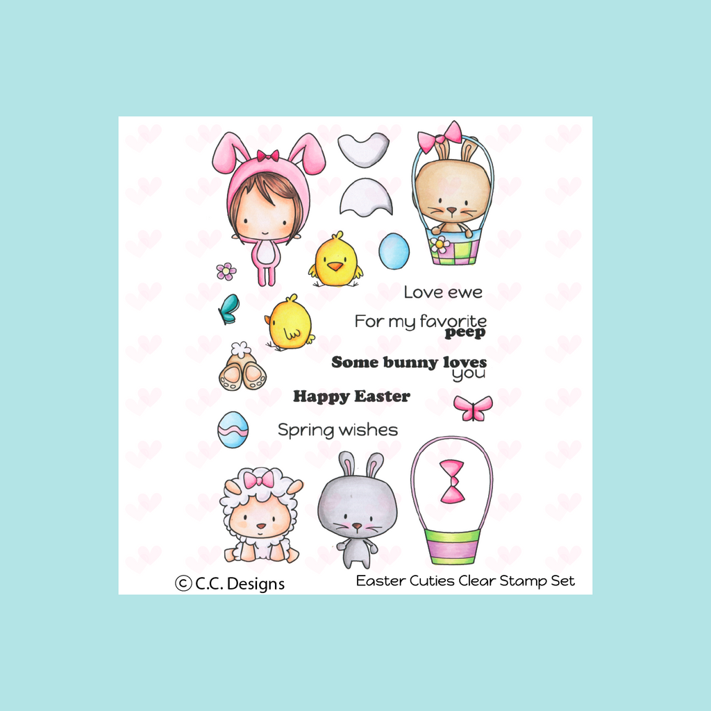 C.C. Designs Easter Cuties Stamp