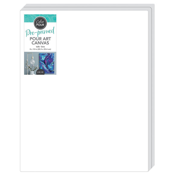 American Crafts - Color Pour Canvas 8 inch x 10 inch