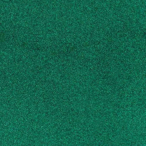American Crafts Green Glitter Cardstock 12 inches x 12 inches