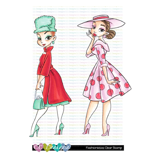 C.C. Designs - Fashionistas Clear Stamps