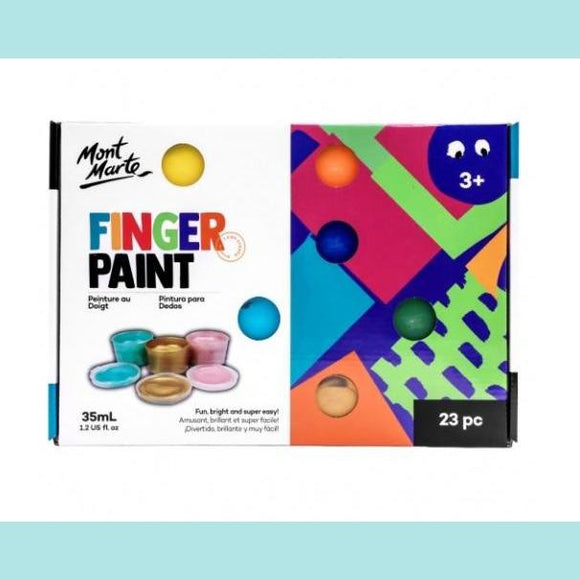 Mont Marte - Finger Paint Set 23pc