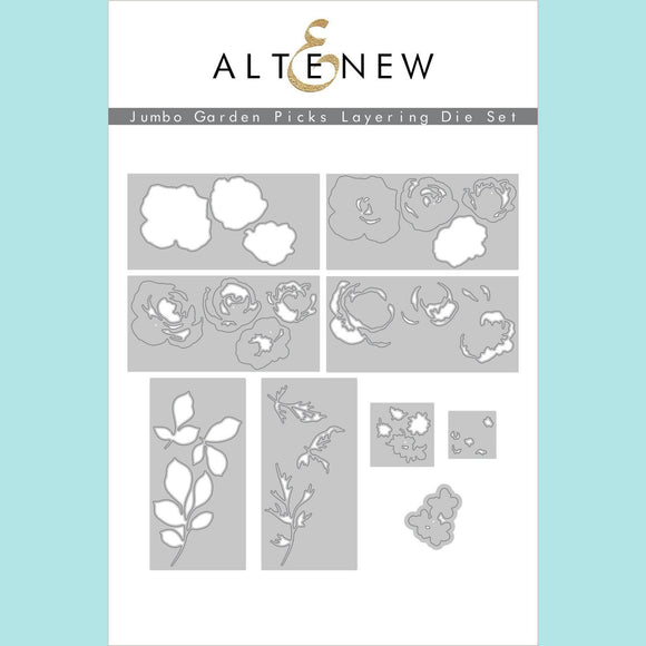 Altenew - Jumbo Garden Picks Layering Die Set