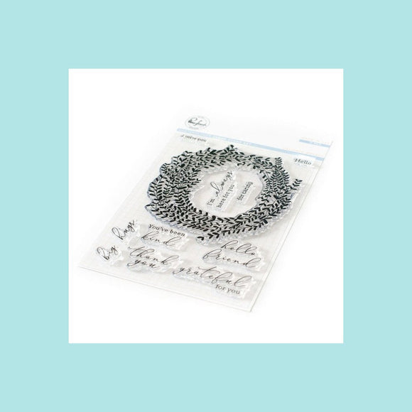 Pinkfresh Studio - Delicate Wreath Stamp and Die