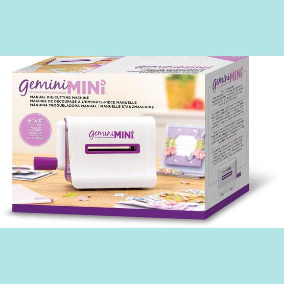 Crafters Companion Gemini Mini – Manual Die-Cutting Machine