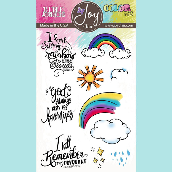 Joy Clair - God's Promises - Bible Journaling Clear Stamp