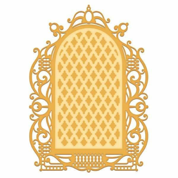 Heartfelt Creations - Regal Lattice Gateway DieHeartfelt Creations - Regal Lattice Gateway Die