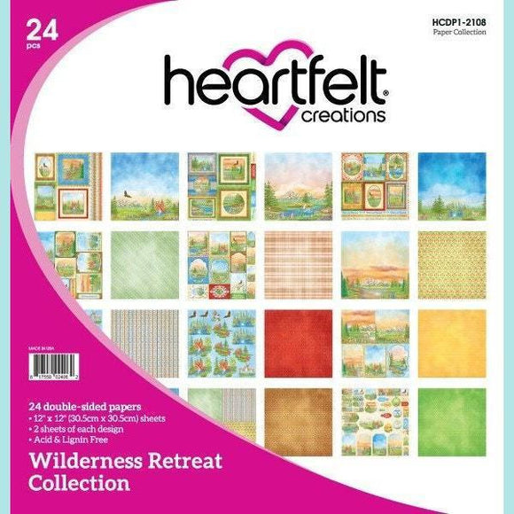 Heartfelt Creations - Wilderness Retreat Paper Collection