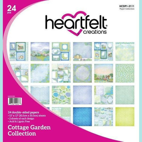 Heartfelt Creations - Cottage Garden Paper Collection