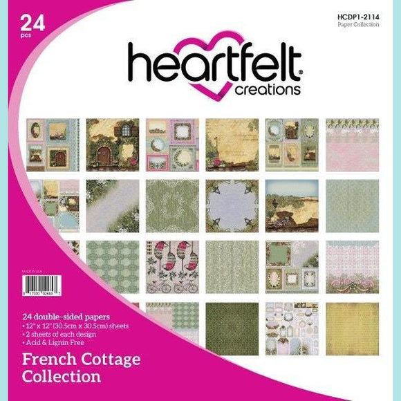 Heartfelt Creations - French Cottage Paper Collection