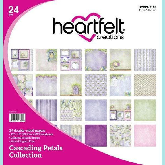 Heartfelt Creations - Cascading Petals Paper Collection