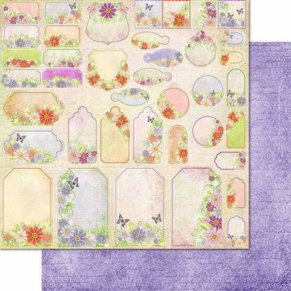 Heartfelt Creations - Summer's Garden Paper Collection