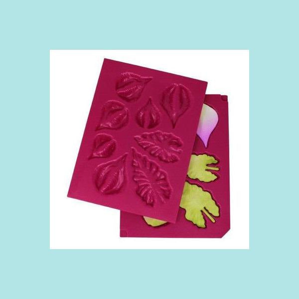 Maroon Heartfelt Creations - Calla Lily Collection - 3D Calla Lily Shaping Mold