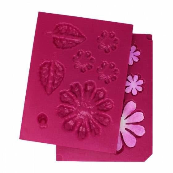 Heartfelt Creations - Large 3D Zinnia Shaping Mold