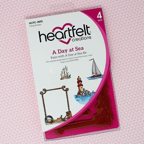 Heartfelt Creations - A Day at Sea Cling Stamp and Die Set