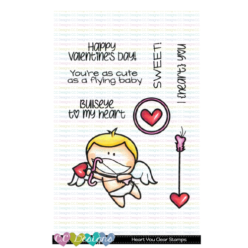 C.C. Designs - Heart You Stamp and Die