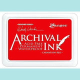Ranger - Wendy Vecchi - Archival Ink Pads CARNATION RED