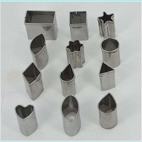 Sculpey® Mini Metal Cutters: Geometric, 12 Pieces