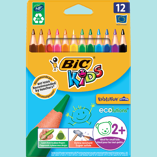 BIC Kids - Evolution Triangles