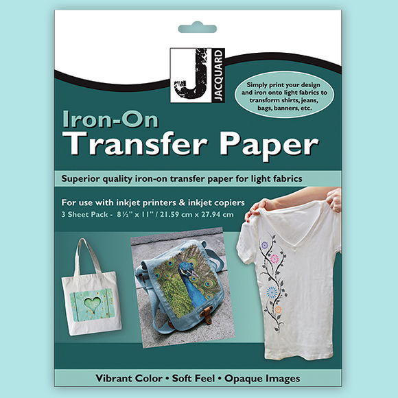 Jacquard Transfer Paper - Newly Improved!