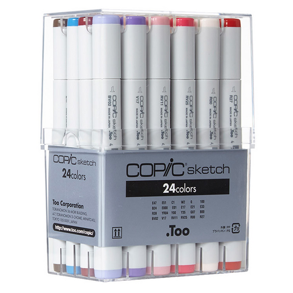 Copic Sketch Set 24