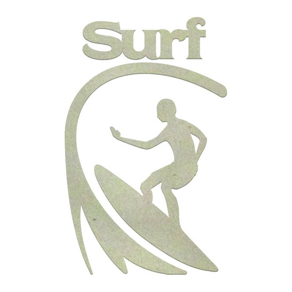 Couture Creations Chipboard - Boys - Surfing Set (3pc) Chipboard