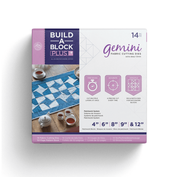 Crafters Companion Gemini - Build-a-Block - Patchwork System PLUS