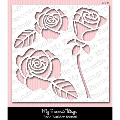 MFT - My Favorite Things - Mix-ables Stencils - Rose Builder 6